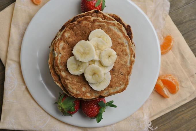 Banana Nut Pancakes 3