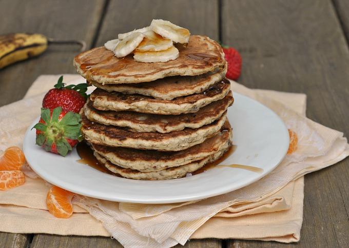 Banana Nut Pancakes 4