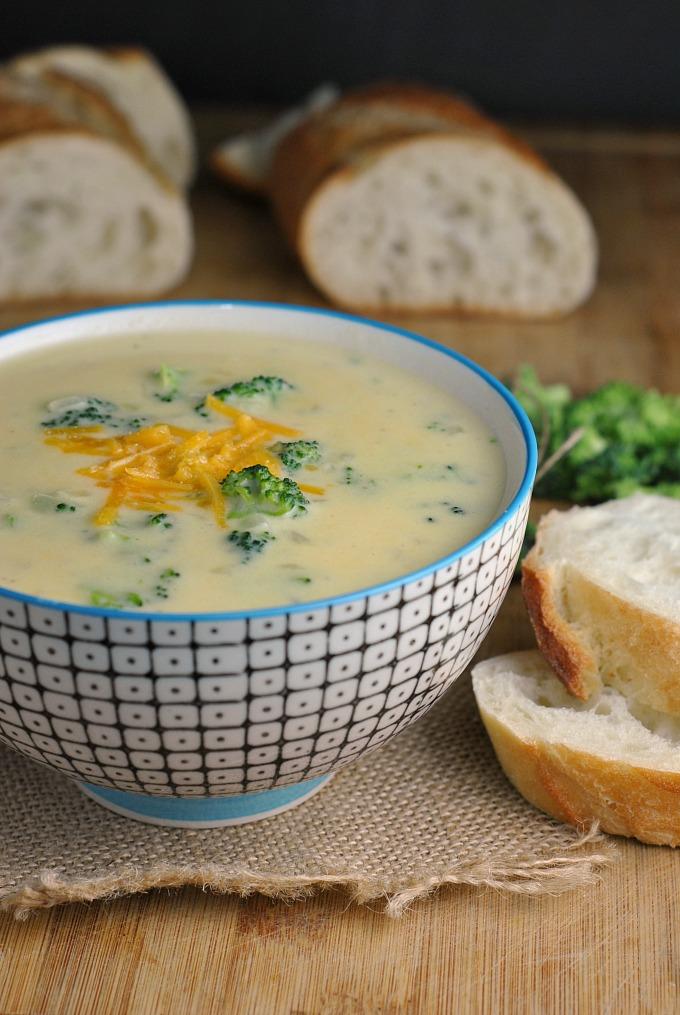 Broccoli-Cheddar Soup 1