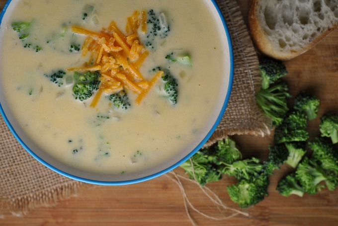 Broccoli-Cheddar Soup 2