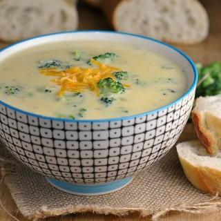 Amazing Broccoli-Cheddar Soup