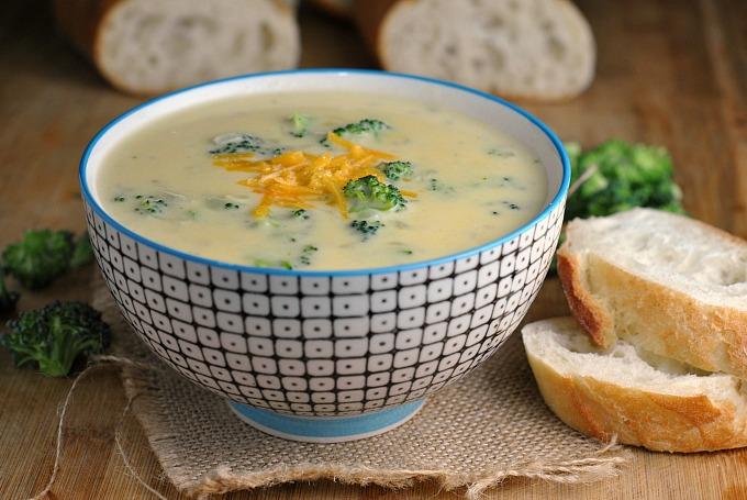Broccoli-Cheddar Soup 3