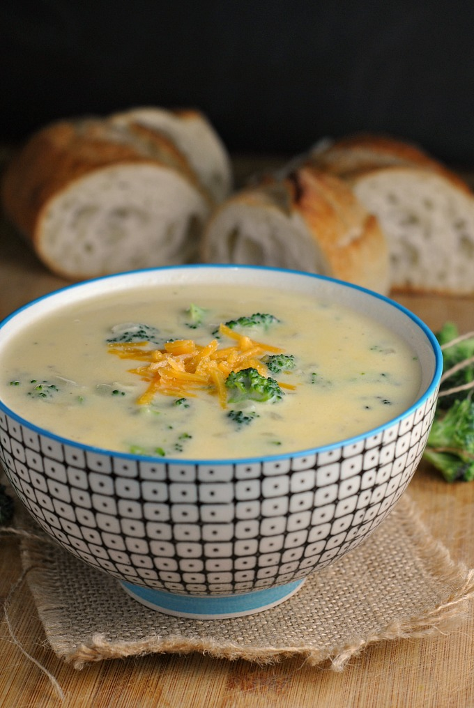 Broccoli-Cheddar Soup 4