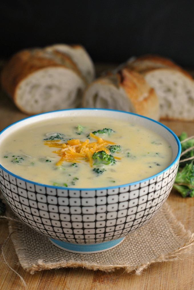 Broccoli-Cheddar Soup 4
