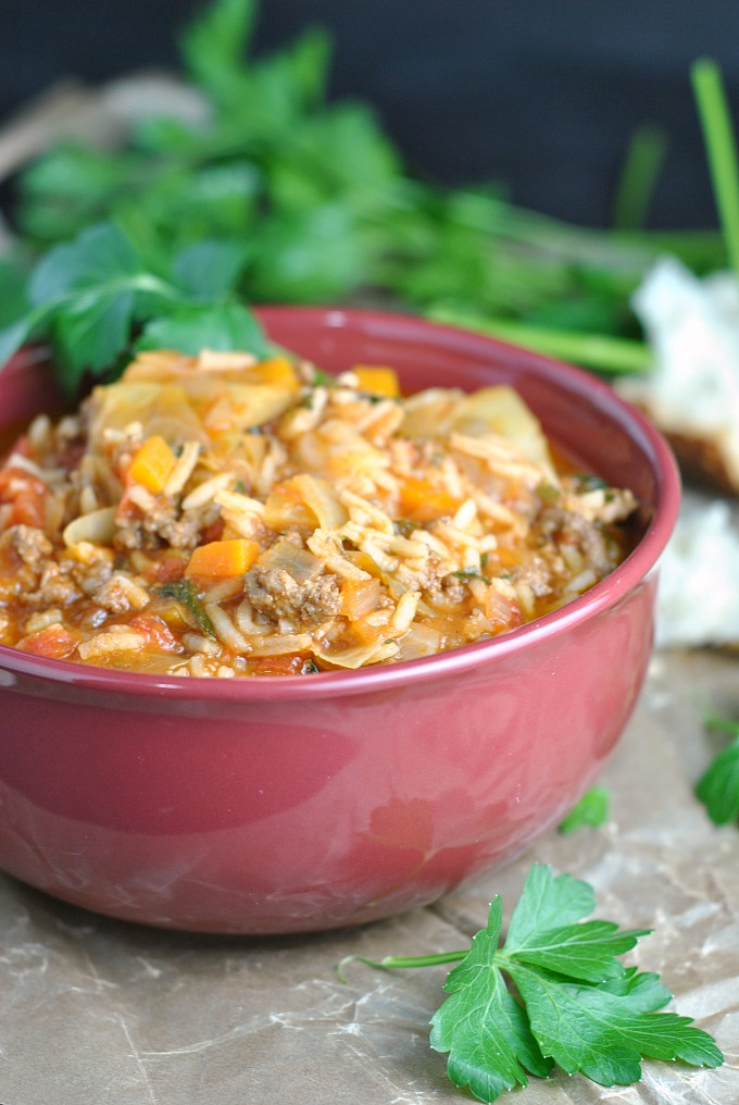 Cabbage Roll Soup 1