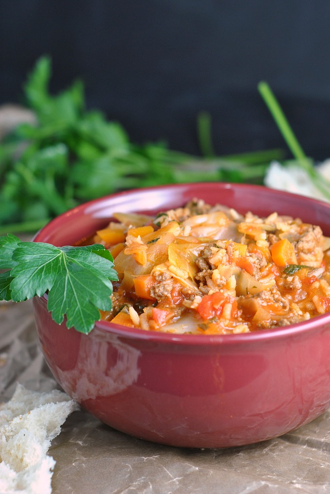 Cabbage Roll Soup 4