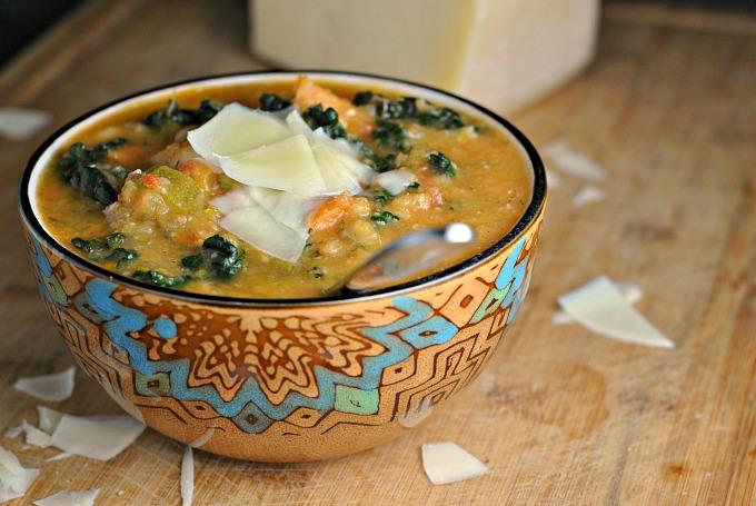 Easy Tuscan Bean Soup 2