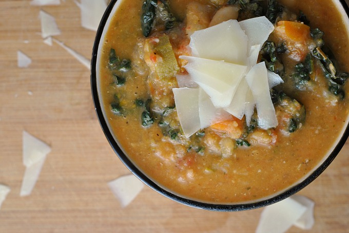 Easy Tuscan Bean Soup 3