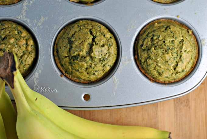 Kale-Banana Toddler Muffins 2