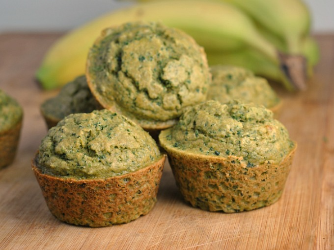 Kale-Banana Toddler Muffins 3