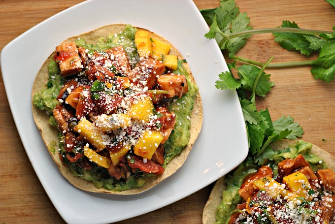 BBQ Margarita Chicken Tostadas 2