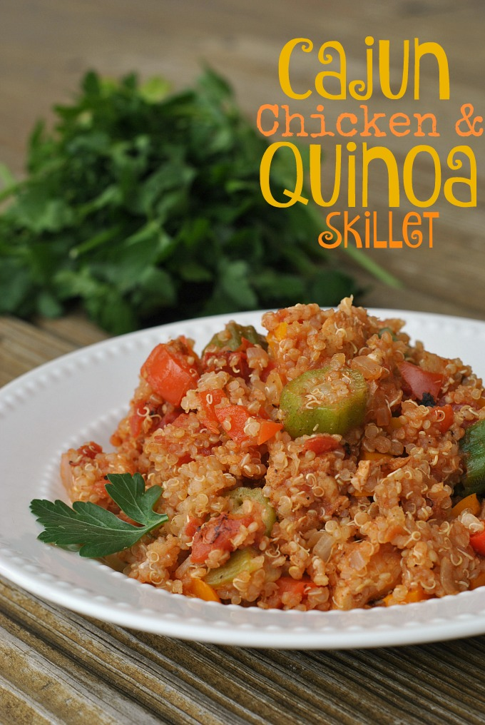 Cajun Chicken and Quinoa Skillet 1