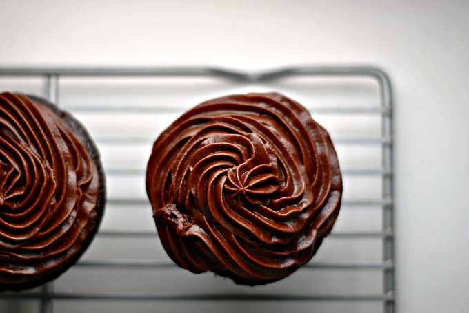 Chocolate Cupcakes with Chocolate Buttercream 2