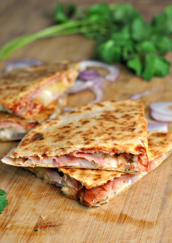 Hawaiian Pizza Quesadillas 1