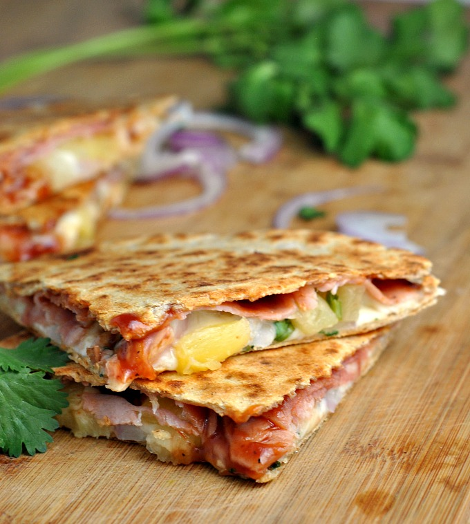 Hawaiian Pizza Quesadillas 3