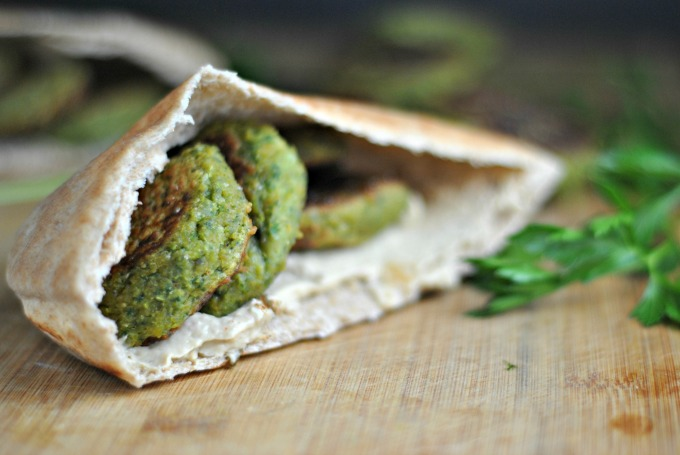Homemade Falafel 3