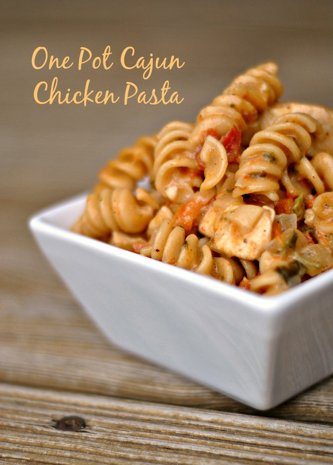 One Pot Cajun Chicken Pasta 1