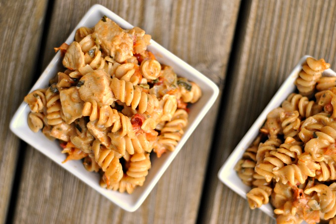 One Pot Cajun Chicken Pasta 2