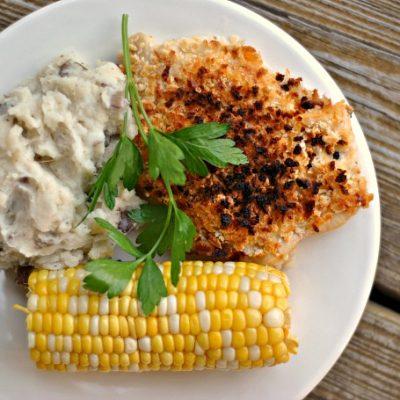 Ranch-Cheddar Chicken + Weekly Menu