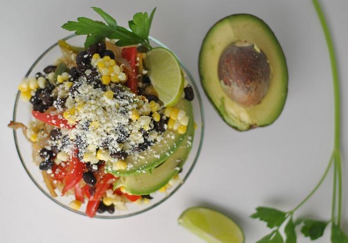 Vegetarian Quinoa Fajita Bowls 2