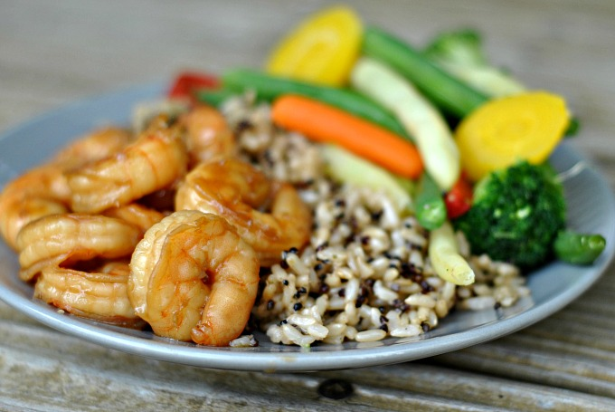 20 Minute Honey Garlic Shrimp 2