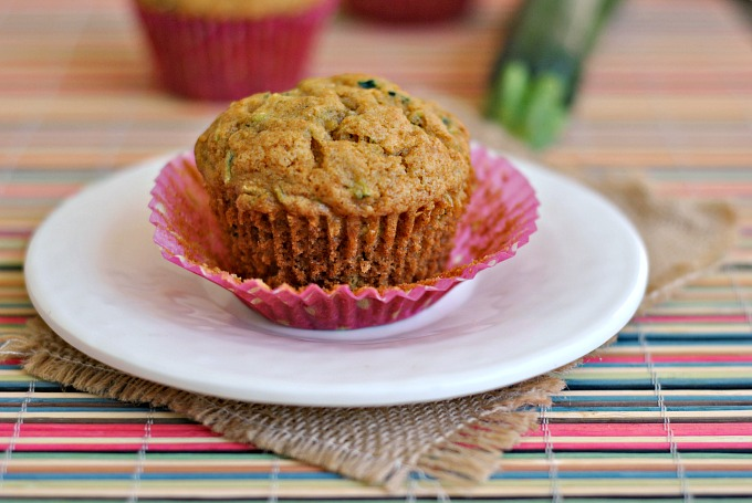 Honey and Olive Oil Zucchini Muffins 2
