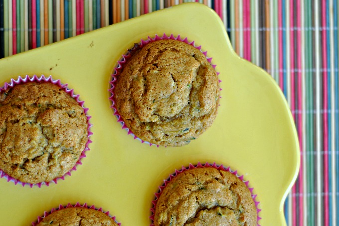 Honey and Olive Oil Zucchini Muffins 3