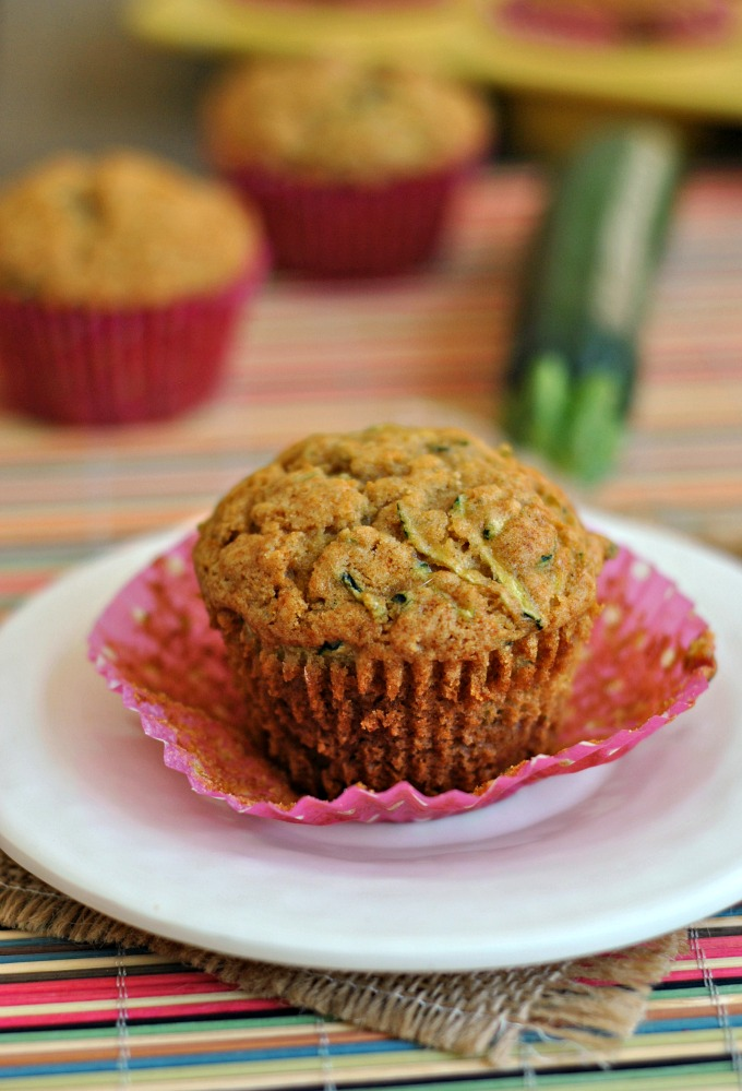 Honey and Olive Oil Zucchini Muffins 4