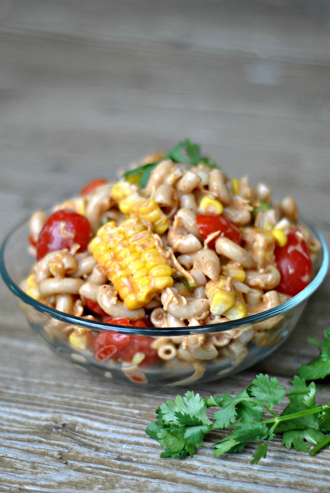Barbecue Pasta Salad 1