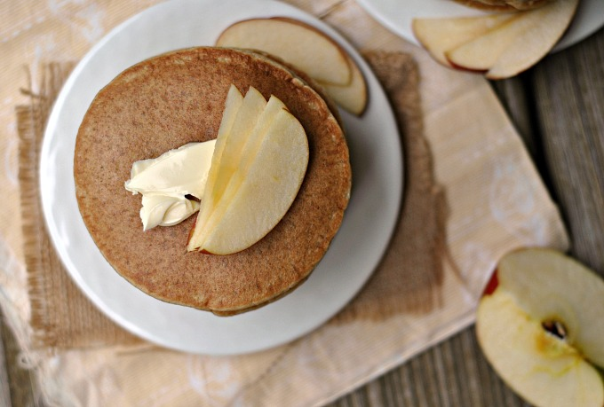 Gluten-Free Apple-Oatmeal Blender Pancakes 2
