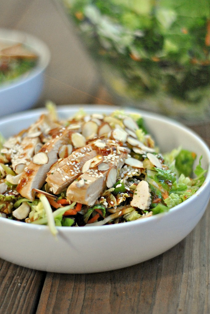 Grilled Ginger-Sesame Chicken Chopped Salad 1