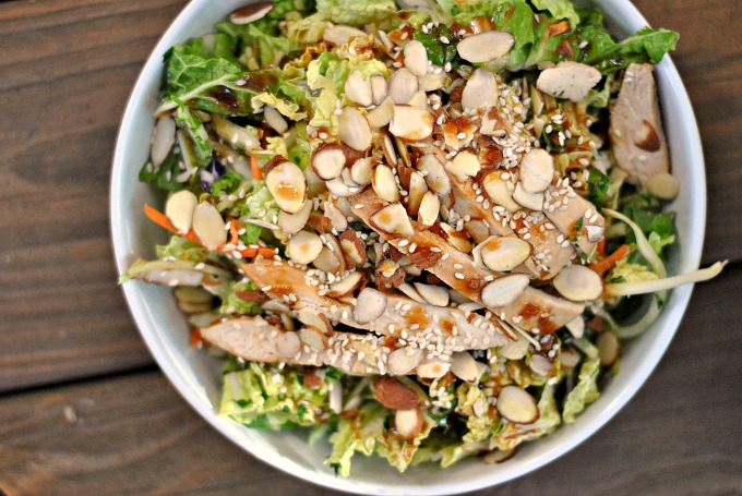 Grilled Ginger-Sesame Chicken Chopped Salad 2