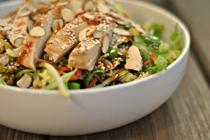 Grilled Ginger-Sesame Chicken Chopped Salad 3