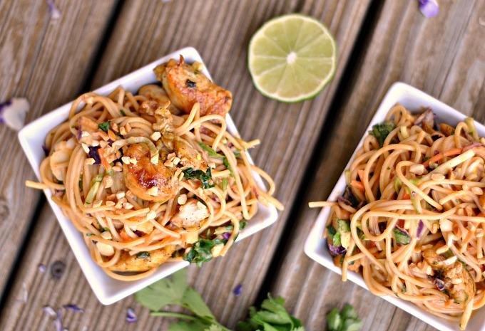 Satay Chicken Noodle Salad 2