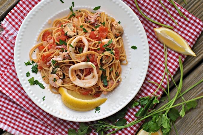 20-Minute Seafood Pasta 2