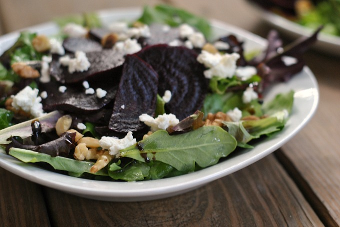 Beet and Goat Cheese Salad 3