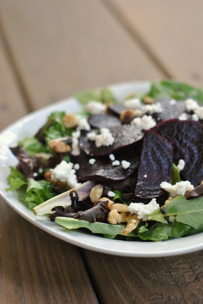 Beet and Goat Cheese Salad 4