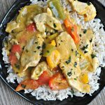 Chicken in Coconut Mango Verde Sauce 3