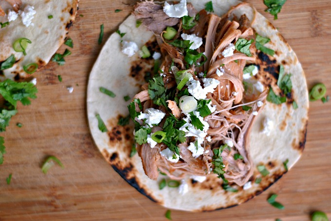 Slow Cooker Pineapple Pulled Pork Tacos