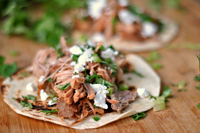 Slow Cooker Pineapple Pulled Pork Tacos 4