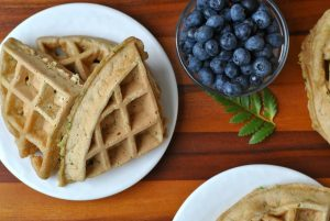 Zucchini Waffles + Weekly Menu