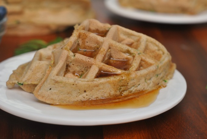 Zucchini Waffles 4