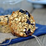 Baked Blueberry Oatmeal Cups 3