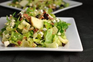 Cranberry Bacon Bleu Salad + Weekly Menu