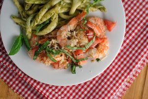 Bruschetta Baked Shrimp