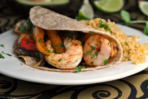 Easy Sheet Pan Shrimp Fajitas