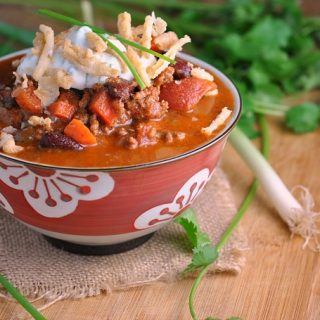 7th Annual Chili Contest: Entry #4 – Smokey Chipotle Chili with Ranch Sour Cream + Weekly Menu