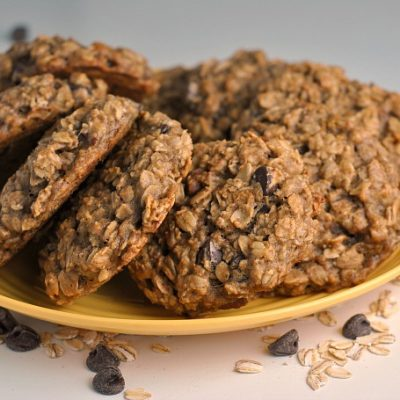 Banana Breakfast Cookies + Weekly Menu