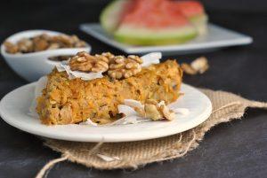 Sweet Potato and Apple Breakfast Bake + Weekly Menu