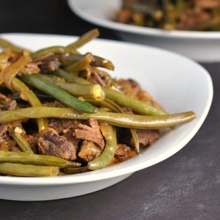 Thai Red Beef Curry with Green Beans